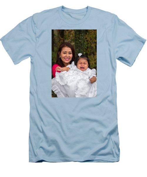 Cruz Baptism Men's T-Shirt (Athletic Fit)