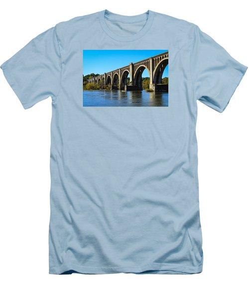 Csx A-line Bridge Men's T-Shirt (Athletic Fit)