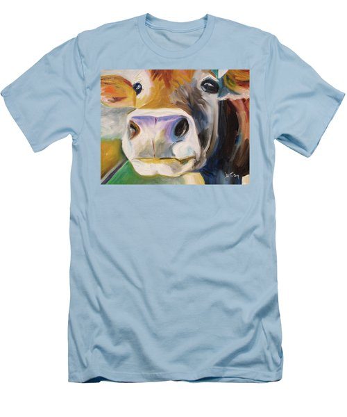 Curious Cow Men's T-Shirt (Athletic Fit)