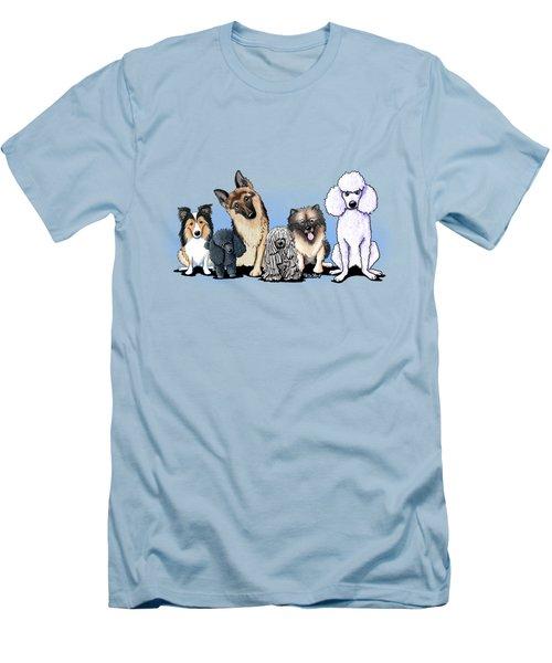 Custom Breed4ginnie Print Men's T-Shirt (Slim Fit)