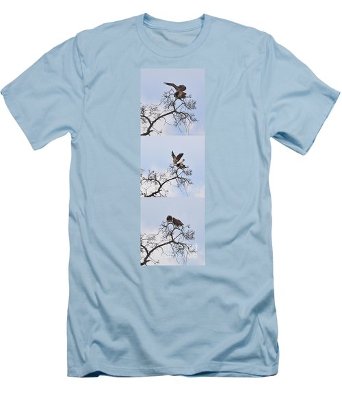 Men's T-Shirt (Slim Fit) featuring the photograph Cycle Of Life-view  Whole Screen by Debby Pueschel
