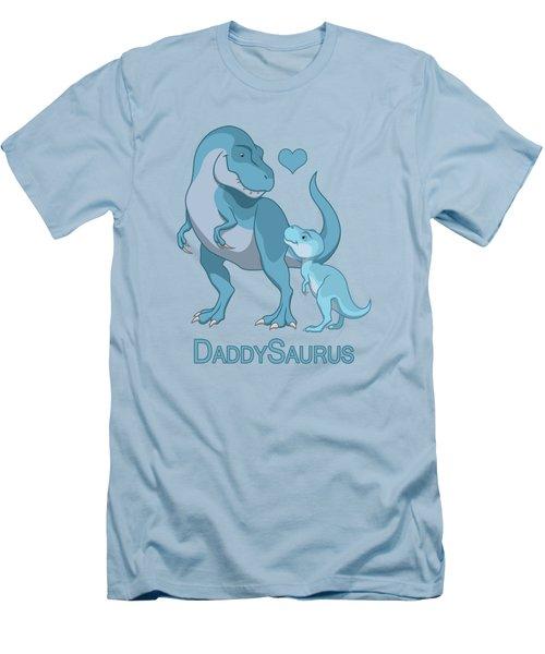 Daddy Tyrannosaurus Rex Baby Boy Men's T-Shirt (Athletic Fit)