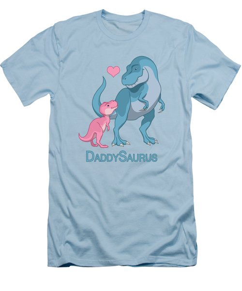 Daddy Tyrannosaurus Rex Baby Girl Men's T-Shirt (Athletic Fit)