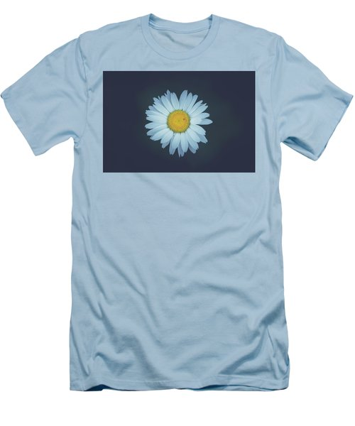 Men's T-Shirt (Slim Fit) featuring the photograph Daisy  by Shane Holsclaw