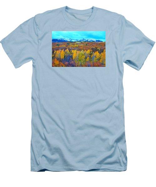 Dallas Divide Palette  Men's T-Shirt (Athletic Fit)