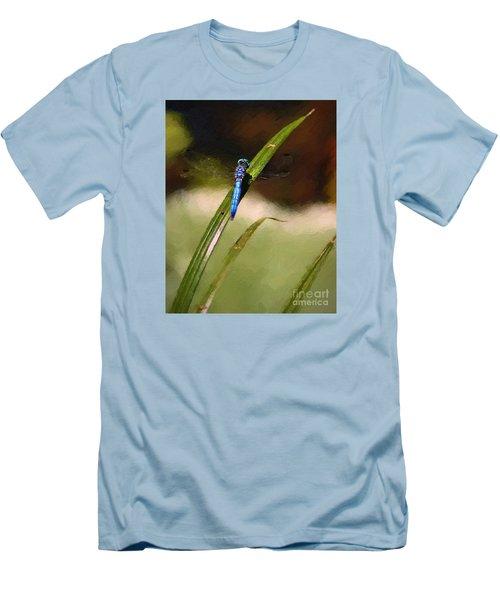 Men's T-Shirt (Slim Fit) featuring the photograph Damsel by John  Kolenberg