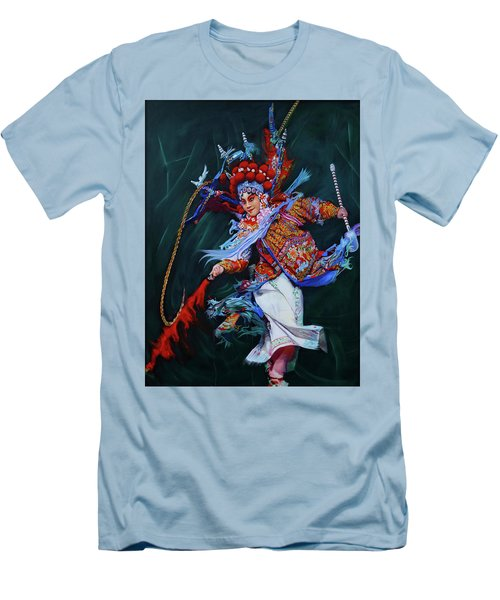 Dan Chinese Opera Men's T-Shirt (Athletic Fit)