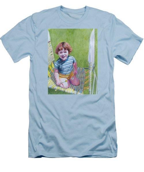 Dandelion Girl Men's T-Shirt (Athletic Fit)