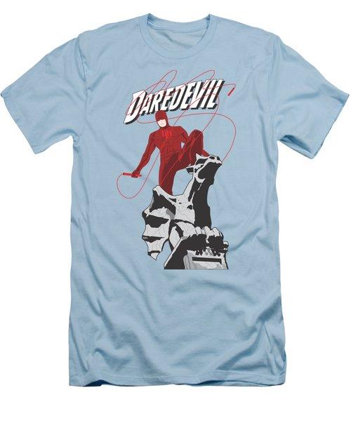 Daredevil Men's T-Shirt (Slim Fit) by Troy Arthur Graphics