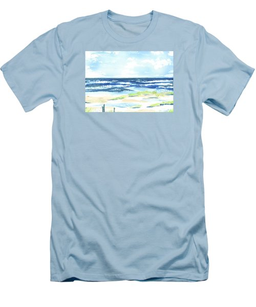 Day At The Beach Men's T-Shirt (Athletic Fit)