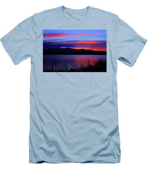 Daybreak Sunset Men's T-Shirt (Slim Fit) by Paul Marto