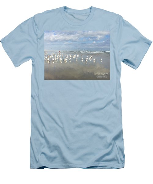 Daytona Beach 2 Men's T-Shirt (Athletic Fit)