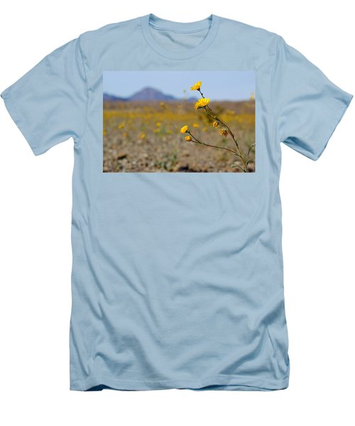 Death Valley Superbloom 501 Men's T-Shirt (Slim Fit) by Daniel Woodrum