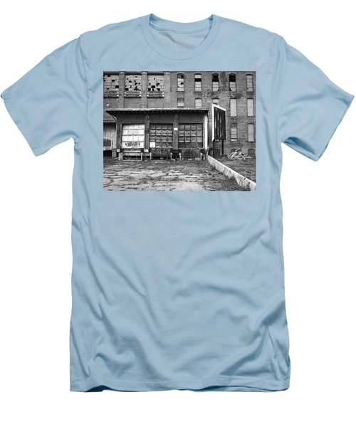 Men's T-Shirt (Athletic Fit) featuring the photograph Decay by Lora Lee Chapman