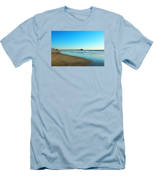 Men's T-Shirt (Slim Fit) featuring the photograph December Days by Everette McMahan jr