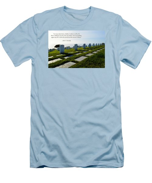 Defending Liberty Men's T-Shirt (Slim Fit) by Glenn McCarthy Art and Photography