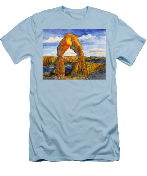Delicate Arch Men's T-Shirt (Athletic Fit)