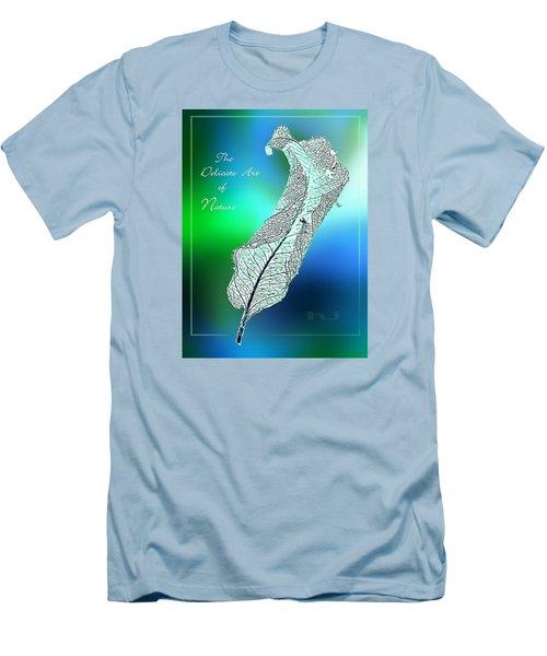 Delicate  Art Men's T-Shirt (Slim Fit) by Hartmut Jager
