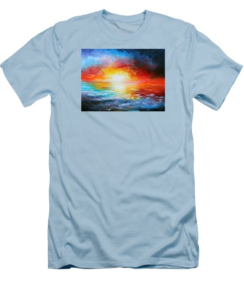 Delivered Men's T-Shirt (Slim Fit) by Meaghan Troup