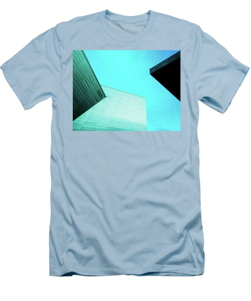 Men's T-Shirt (Slim Fit) featuring the photograph Denver Art Museum Hamilton by Marilyn Hunt