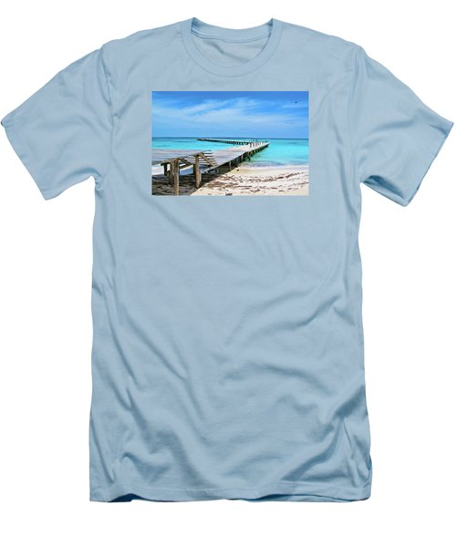Departure Point Men's T-Shirt (Athletic Fit)