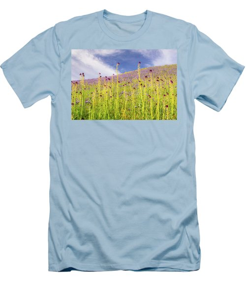 Desert Candles At Carrizo Plain Men's T-Shirt (Athletic Fit)