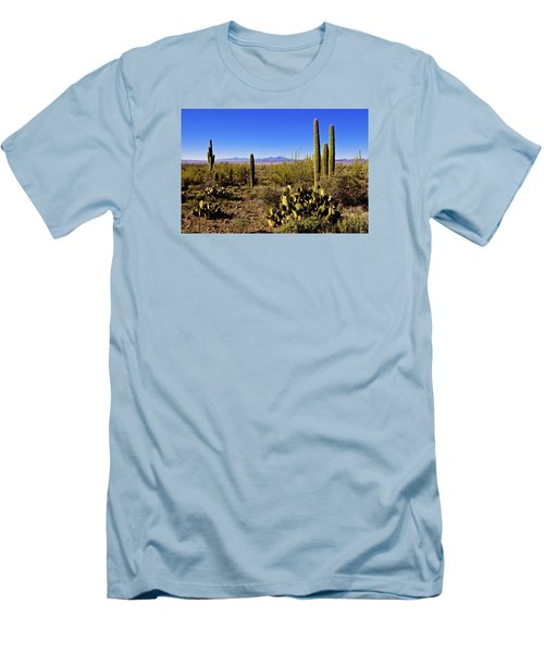 Desert Spring Men's T-Shirt (Slim Fit) by Chad Dutson