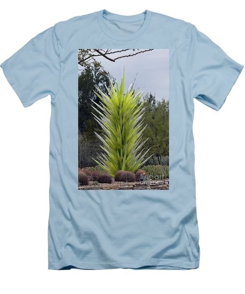 Desert Tower 2008 #2 Men's T-Shirt (Slim Fit) by Anne Rodkin