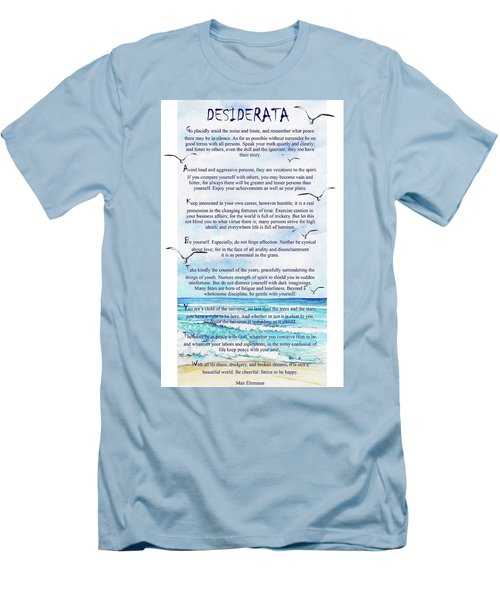 Desiderata Men's T-Shirt (Athletic Fit)