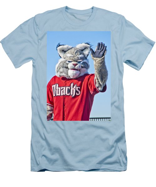 Diamondbacks Mascot Baxter Men's T-Shirt (Athletic Fit)