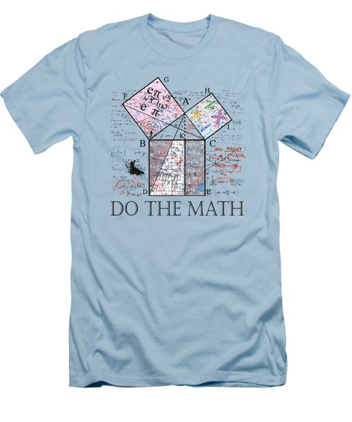 Do The Math Men's T-Shirt (Athletic Fit)