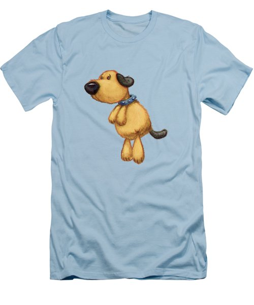 dog Men's T-Shirt (Slim Fit) by Andy Catling