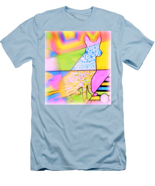 Dog Men's T-Shirt (Slim Fit) by Wbk