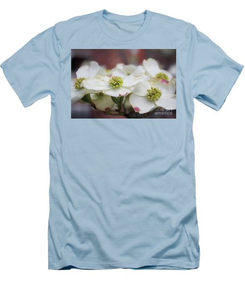 Dogwood Flowers Men's T-Shirt (Athletic Fit)