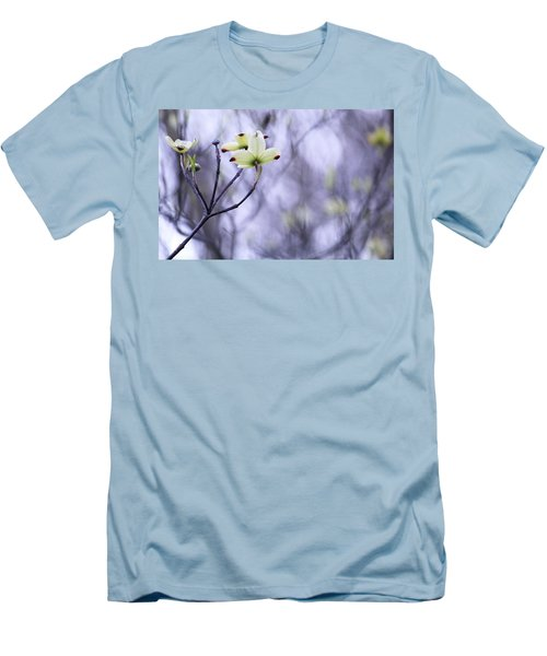 Men's T-Shirt (Slim Fit) featuring the photograph Dogwood by Tammy Schneider