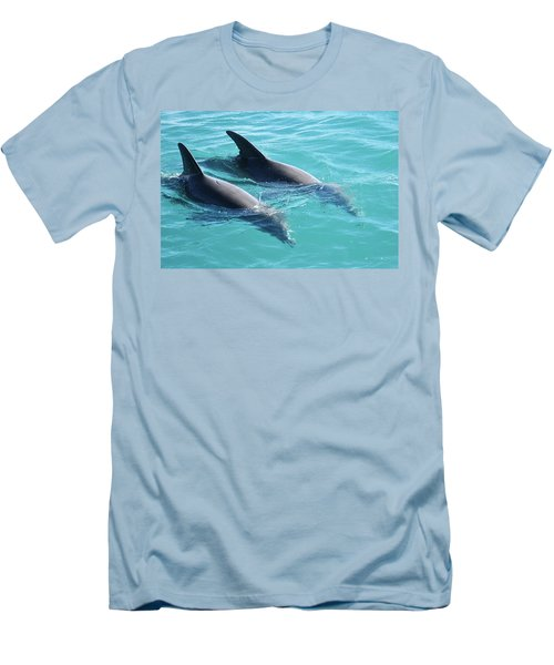 Dolphins Men's T-Shirt (Athletic Fit)