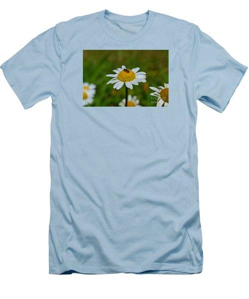 Men's T-Shirt (Slim Fit) featuring the photograph Don't Bug Me by Lew Davis