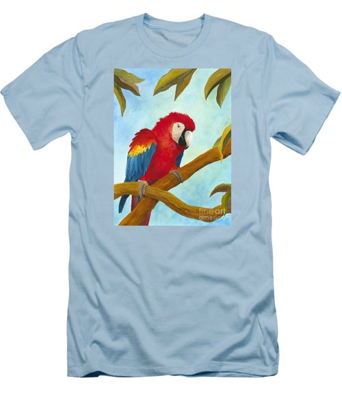 Dont Ruffle My Feathers Men's T-Shirt (Slim Fit) by Phyllis Howard