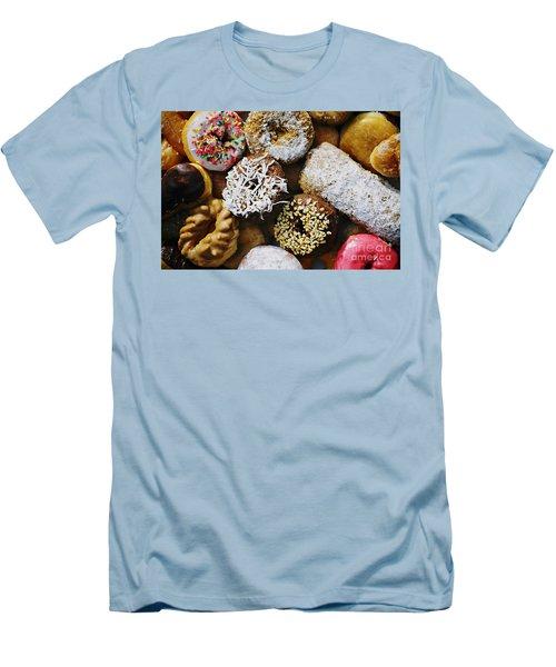 Donuts Men's T-Shirt (Athletic Fit)
