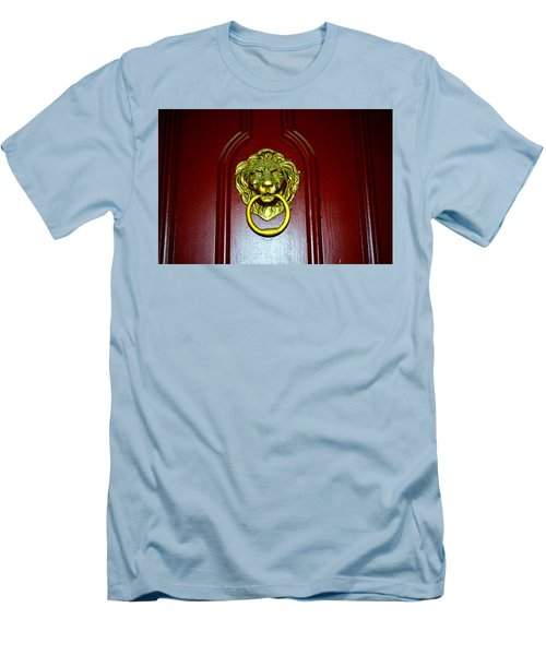 Door Knocker Men's T-Shirt (Athletic Fit)