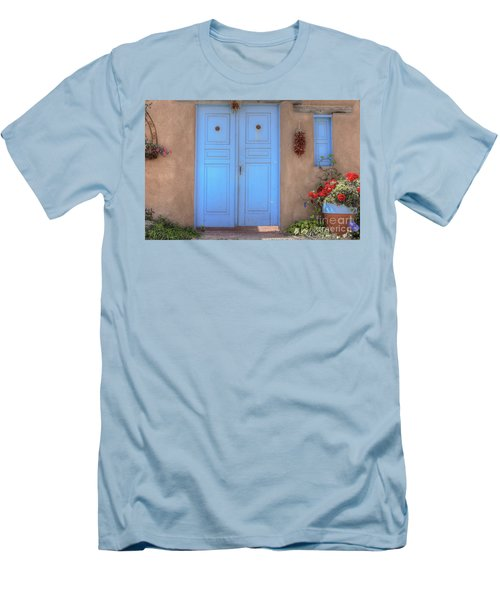 Doors, Peppers And Flowers. Men's T-Shirt (Athletic Fit)
