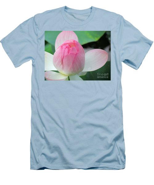 Dotus On The Lotus  Men's T-Shirt (Athletic Fit)