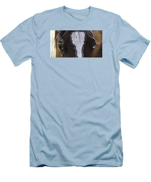 Double Vision Men's T-Shirt (Slim Fit) by Elizabeth Eldridge