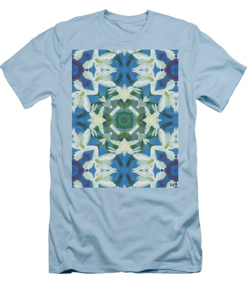 Doves Of Peace Men's T-Shirt (Slim Fit) by Maria Watt