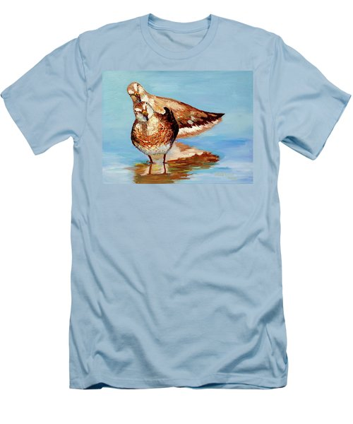 Dowitcher Birds Men's T-Shirt (Athletic Fit)