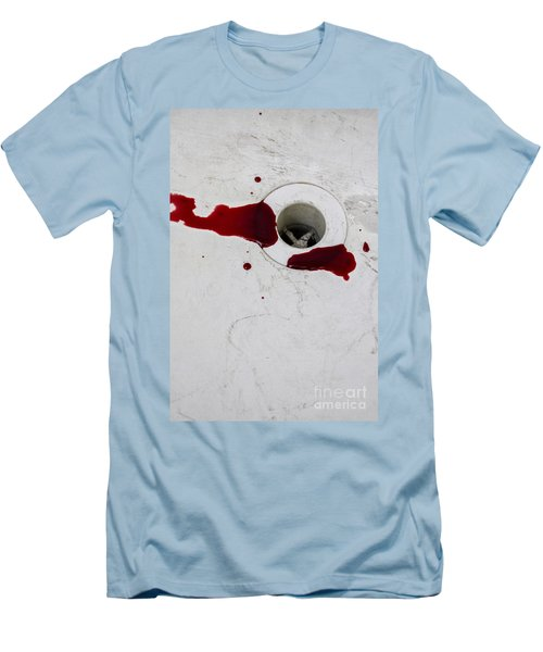 Down The Drain Men's T-Shirt (Athletic Fit)