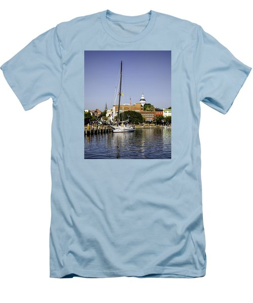 Downtown II Men's T-Shirt (Athletic Fit)