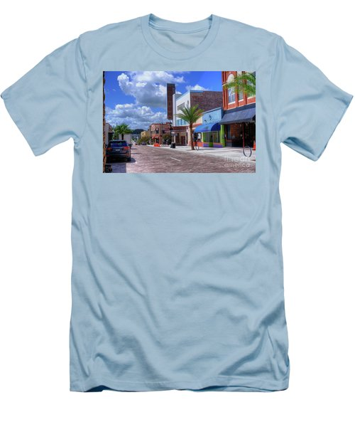 Downtown Ocala Theatre Men's T-Shirt (Athletic Fit)