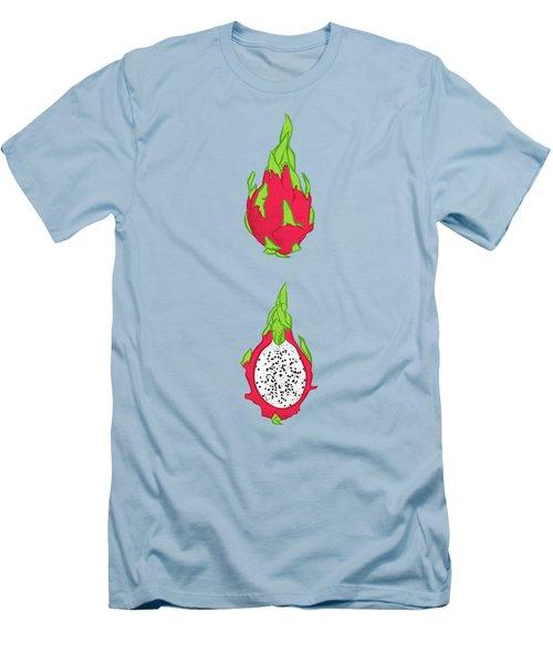 Dragon Fruit Men's T-Shirt (Slim Fit) by Evgenia Chuvardina