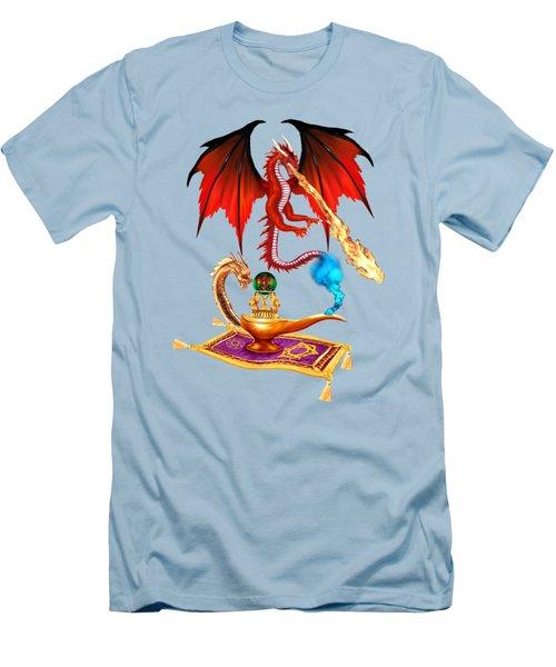 Dragon Genie Men's T-Shirt (Athletic Fit)